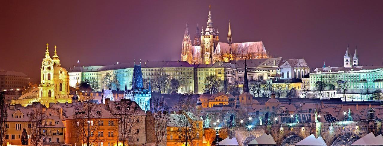 Коледа и Нова Година 2020 в Чехия